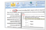 Patent Proofreading Software