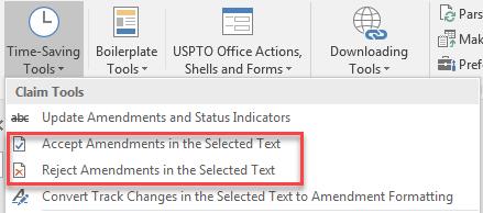 accept or reject amendments