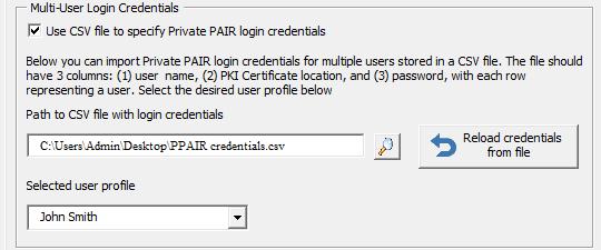 multiuser pair credentials