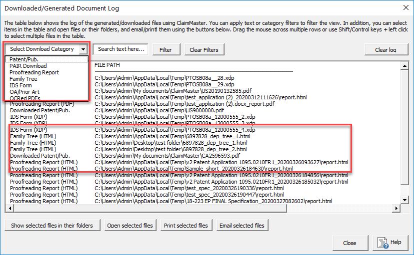 download manager screenshot