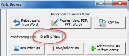 drafting view